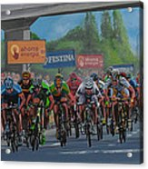 The Vuelta Acrylic Print