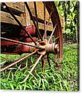 The Wagon Wheel Acrylic Print