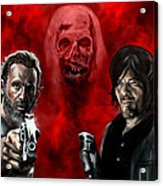 The Walking Dead Acrylic Print