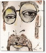 The Walrus As John Lennon Acrylic Print by Mark M  Mellon