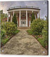 The Ward Mansion - Conway - Arkansas Acrylic Print