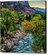 The Watchman At Sunrise Acrylic Print