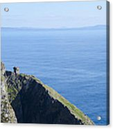 The Watchtower At Slieve League Acrylic Print