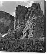 209619-bw-the Watchtower, Wind Rivers Acrylic Print