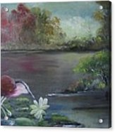 The Water Bird Acrylic Print