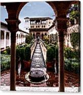 The Water Gardens Acrylic Print