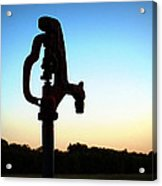 The Water Hydrant Acrylic Print