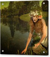 The Water Maiden Acrylic Print by Dick Wood