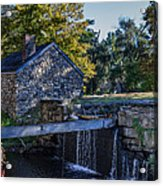 The Water Mill Acrylic Print