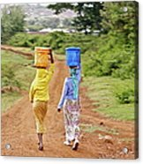 The Watercarriers Acrylic Print