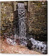 The Waterfall At Hagy's Mill Acrylic Print