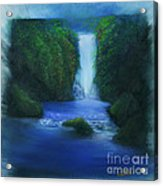 The Waterfall Acrylic Print