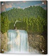 The Waterfall... Acrylic Print