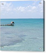 The Waters Of Pigeon Key Acrylic Print