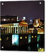 The Waterworks At Night Acrylic Print