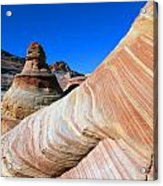 'the Wave' North Coyote Buttes 10 Acrylic Print