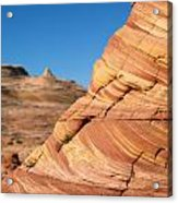 'the Wave' North Coyote Buttes 13 Acrylic Print