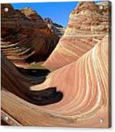 'the Wave' North Coyote Buttes 19 Acrylic Print
