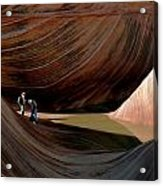'the Wave' North Coyote Buttes 44 Acrylic Print