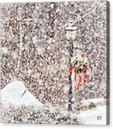 The Weather Outside Is Frightful Acrylic Print