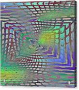 The Web Is Cast Acrylic Print