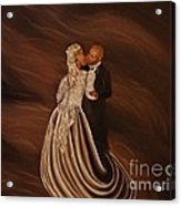 The Wedding Kiss Acrylic Print