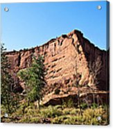 The Wedge Canyon Dechelly Acrylic Print