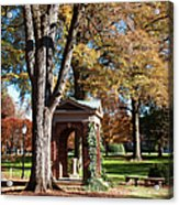 The Well - Davidson College Acrylic Print