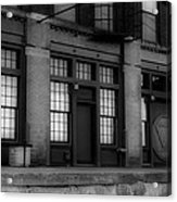The West Bottoms Bw Acrylic Print