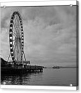 The Wheel And The Ferry Acrylic Print
