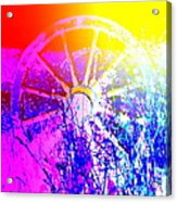 I Have A Wheel Of Colors But It's Standing Still  Acrylic Print