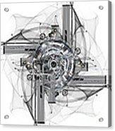 The Wheel Of Time Turns Acrylic Print