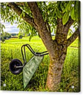 The Wheelbarrow Acrylic Print