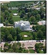 The White House Acrylic Print by Carol Highsmith
