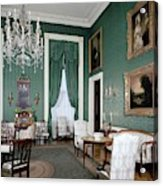 The White House Green Room Acrylic Print
