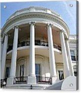 The White House South Portico Acrylic Print