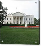 The White House - Washington D C Acrylic Print