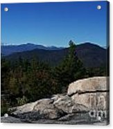 The White Mountains Acrylic Print by Steven Valkenberg