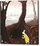 The White Rabbit Acrylic Print