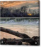 The White River Acrylic Print
