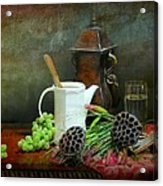 The White Spout Acrylic Print by Diana Angstadt