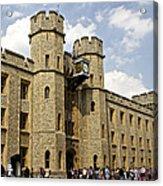 The White Tower C1078 Acrylic Print