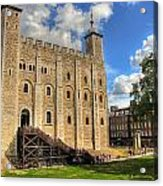 The White Tower Acrylic Print