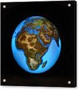The Whole World Acrylic Print