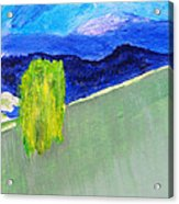 The Willow On The Hill #2 Acrylic Print