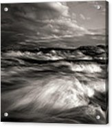 The Wind And The Sea Acrylic Print by Bob Orsillo
