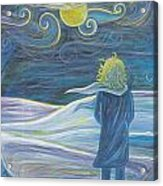 The Wind Acrylic Print