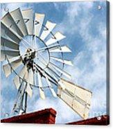 The Wind Wheel Acrylic Print