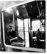 The Window Of Old Train Acrylic Print