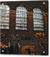 The Windows At Grand Central Terminal Acrylic Print